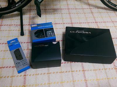(´・ω・`)ショボーン: izoardXP 11s化 (ST-6800/RD-6800/CS-6800/CN-HG901) (...