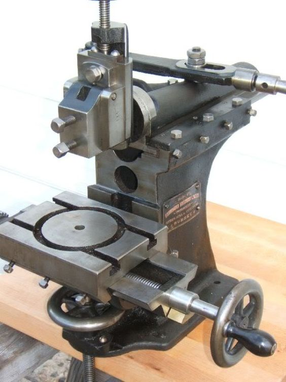 Drummond benchtop manual shaper, about 1908.   other ...