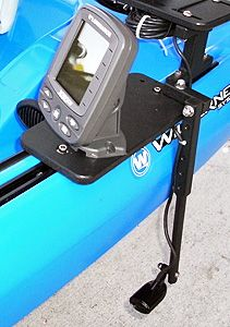 Sideboard fish finder mount pinteres for Fish finders for kayaks