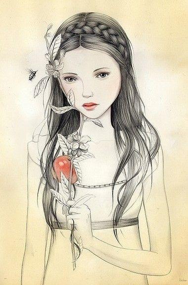 Amo ver desenhos lindos ♥ gente que tem talento é outro nível...: