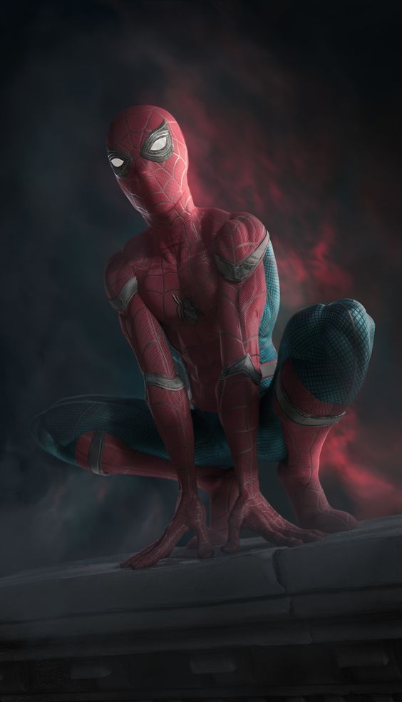 Spider-man, Homecoming Fan art, esteban ariza on ArtStation at https://www.artstation.com/artwork/52vLw