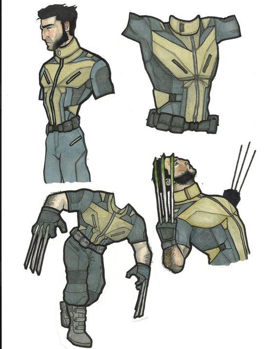 Wolverine redesign concepts by OshKoshBgosh
