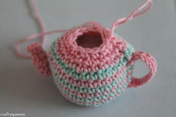 Amigurumi Crochet Teapot Pattern : Pinterest The world s catalog of ideas