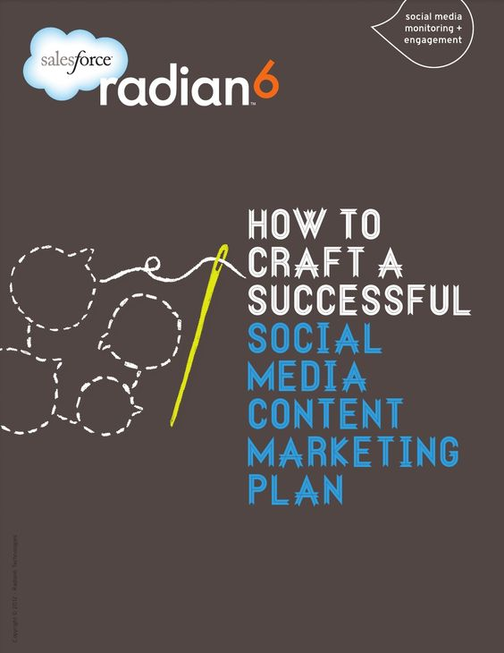 How To Craft A Successful Social Media Content Marketing Plan