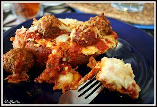 Meatball Sub Casserole #recipe from @Kim of Mo'Betta