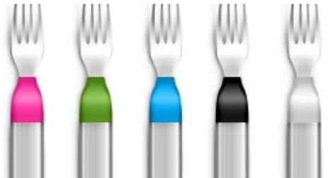 forks that vibrate