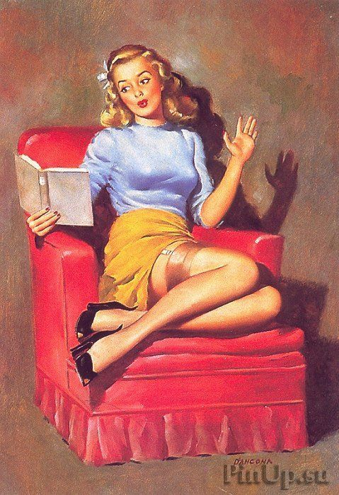 by Edward D'Ancona. This is what I picture Nancy Drew to look like.:
