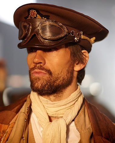 There is something about men in steam punk outfits, especially if they include goggles...
