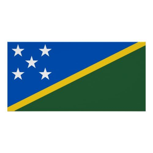 Solomon Islands National World Flag Poster Zazzle Com Flags Of The World Solomon Islands Flag Flag