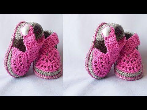 Zapatitos Tejidos A Crochet Para Niñas Youtube Zapatos De Ganchillo Zapatitos Tejidos A Crochet Zapatos Tejidos Para Niña