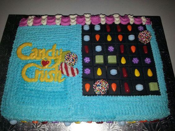 Candy crush cake.