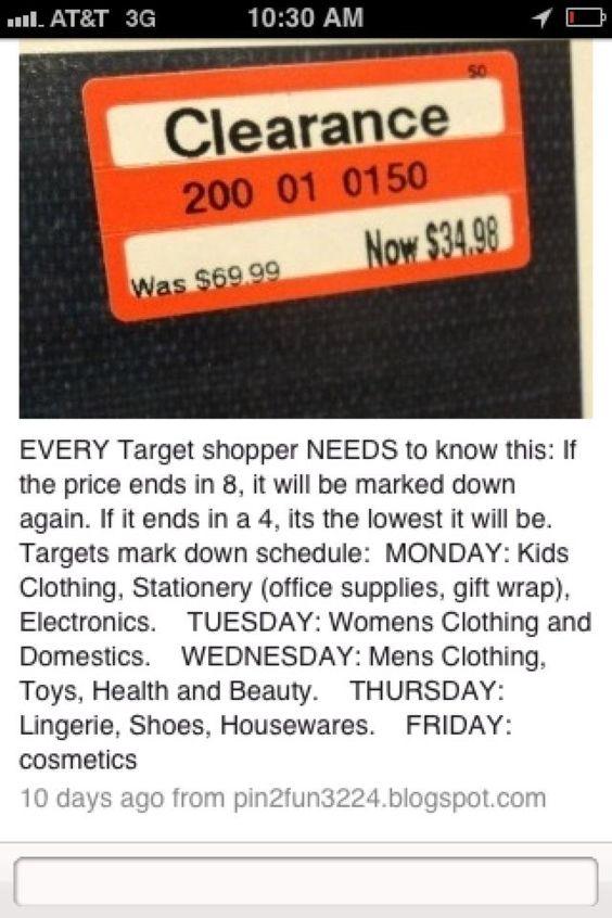 Tips on Target sales    #sales #target #budget: Budget, Sales Target, Target Savings, Target Sales, Money, Sales Lauren, Price Tags, Target Sale Days, Sales Days