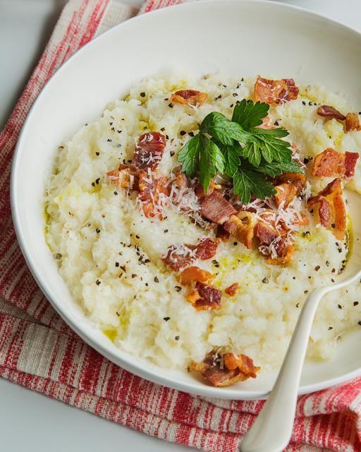 Cauliflower Purée with Pancetta & Parmesan | Recipe ...