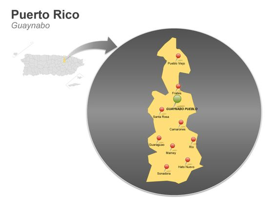 Guaynabo Puerto Rico Map Guaynabo Is A Municipality In The - Guaynabo map