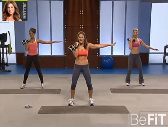 Jillian michaels workout and michael o keefe on pinterest