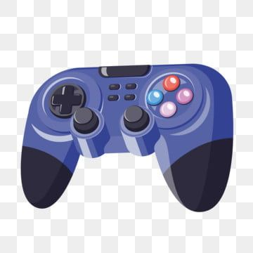 Video Game Controller Vector Controller Clipart Handle Ps4 Png And Vector With Transparent Background For Free Download Video Game Controller Game Controller Games