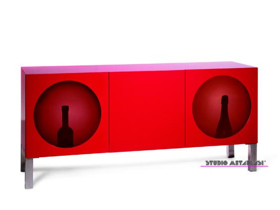 HOLLYWOOD 2004 Sideboard With Led Lights Design: Sofia Zoubouli © STUDIO  METAPLASI Www.studiometaplasi.com Http://www.facebook.com/pages/STUDIO MEu2026