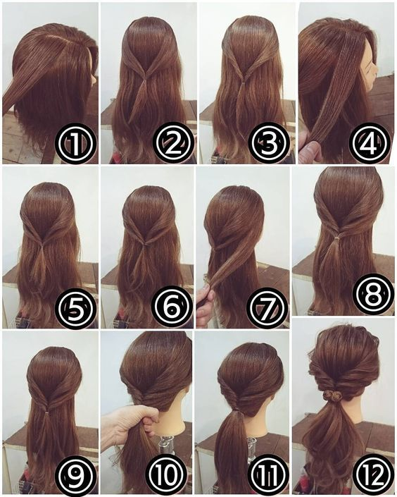 50 Simple And Creative Hairstyles For Long Hair Both Braided And Free Styles Abcdiy Long Hair Styles Twist Ponytail Hair Styles