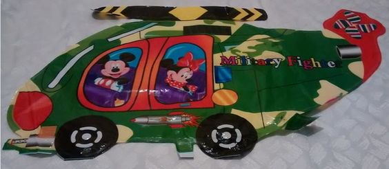 Balão Helicoptero do Mickey