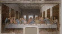 Leonardo da Vinci, The Last Supper (1495-98)