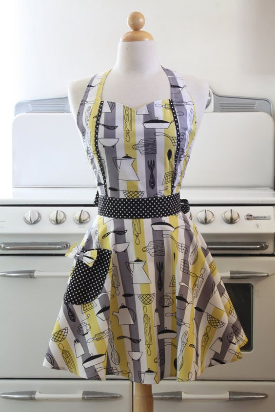 Kitchen tools apron