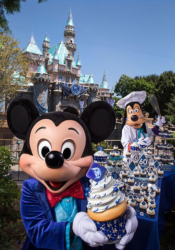 Disneyland Resort Guests Treated to Cupcakes for 60th Anniversary Celebration: