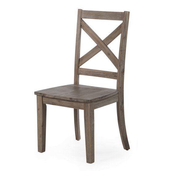 Belham Living Harrison Farmhouse Driftwood Dining Chair Set Of 2 Solid Wood Dining Chairs Dining Chairs Solid Wood Dining Set