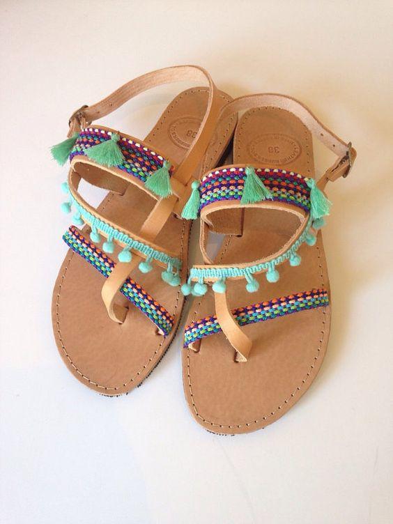Unique Summer Flat Sandals