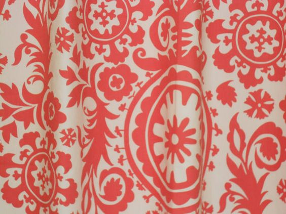 Pair of curtain drapery panels, LINED with blackout, 50 X 96 ...