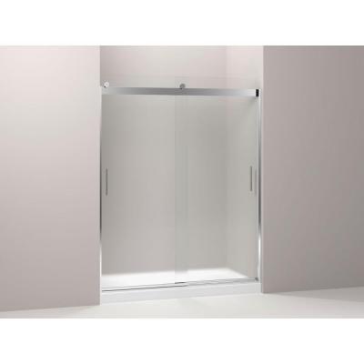 shower door in silver with handle shower doors home depot and