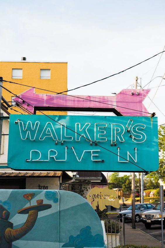 Walker's Drive-In Restaurant Jackson Mississippi