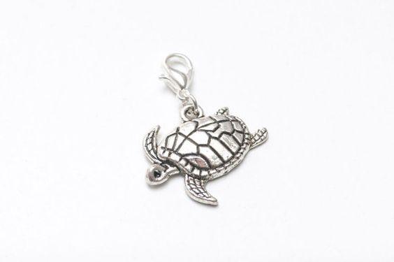 Anhänger Schildkröte Silber Bettelarmband  C56 von JustTrisha, €2.30