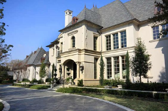 French provincial mega mansion picture 17 homes of the for Mansions in dallas tx