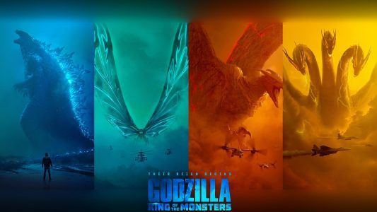 Godzilla King Of The Monsters 4k Wallpaper Images Godzilla Wallpaper Godzilla Free Movies Online