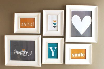Stampin' Up!  framed art using My Digital Studio: Easy Decorating, Colors Decorate, Framed Items, Craft My Ideas, Wall Decorations, Easy Home Decor, Framed Art, Bathroom Ideas, Picture Wall Ideas