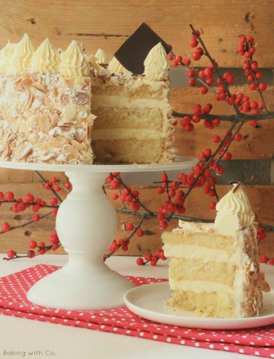 TARTA SARA: ALMENDRA Y MANTEQUILLA | Baking with Co.