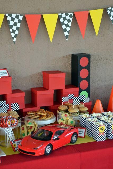 Ferrari Party Table