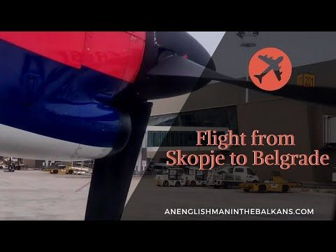 Flight From Skopje To Belgrade My First Flight With Air Serbia I Had A Second Leg From Belgrade To Zagreb Although Rather Old A In 2020 Skopje Air Serbia Belgrade