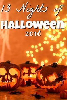 It's finally here! The 13 Nights of Halloween 2016 List of movies! Did your favorites make the cut? Plus I share a few of our family favorites!