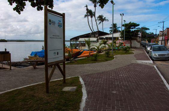 Na beira da Lagoa Mundaú - Pontal