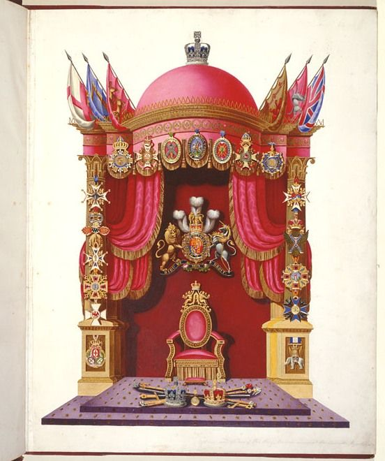 The Throne of George IV| The Royal Collection