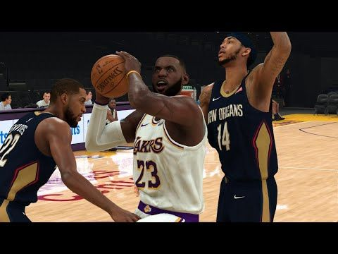 Nba Playoffs 2020 Los Angeles Lakers Vs New Orleans Pelicans Western Conference Finals Nba 2k20 In 2020 Lakers Vs Los Angeles Lakers Los Angeles Lakers Basketball