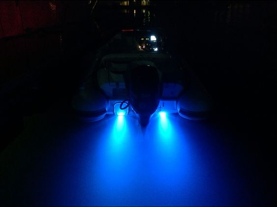 a tricked out tender!! blue underwater lights by ocean led and, Reel Combo