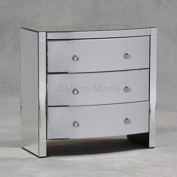 Steffan Venetian Mirror Chest of Drawers - Furniture - Home Decor