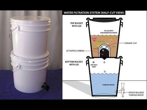 Homemade Water Filter System Under 100 Life Hack You Decide Water Filter Water Filters System Water Filtration System Diy