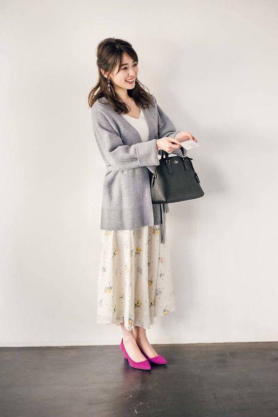 爽やかなファッションの泉里香さん