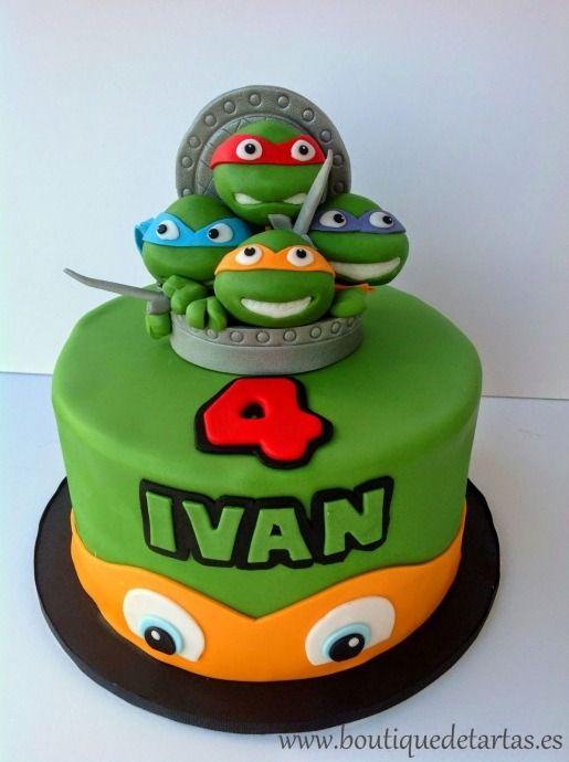 Tortugas Ninja Cake Ninja Turtle Birthday Cake Turtle Birthday Cake Ninja Cake