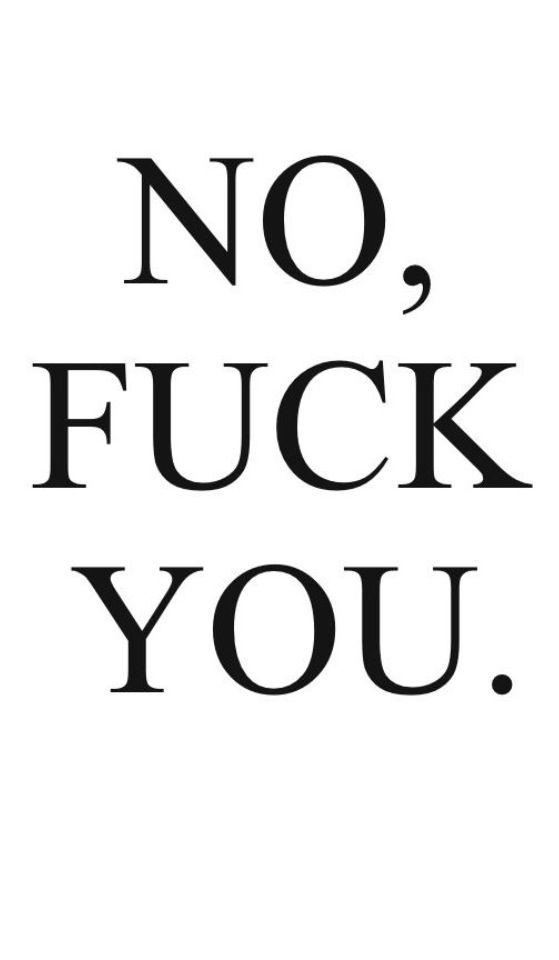 ... I said.