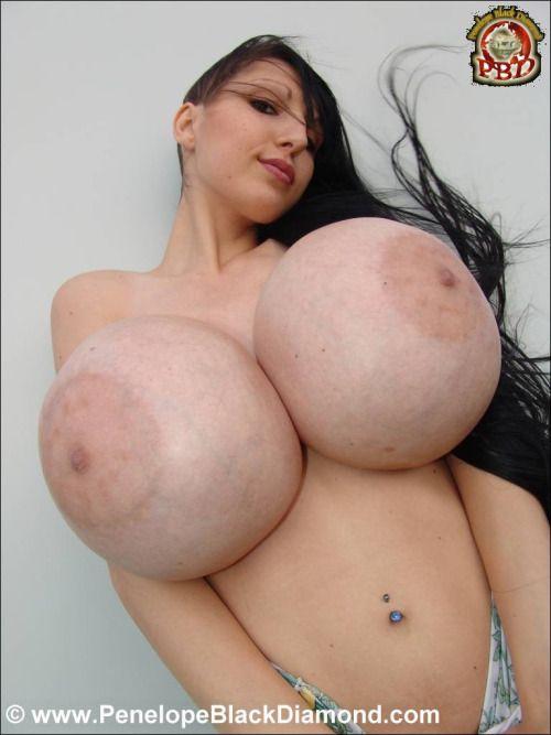 Penelope Black Diamond Boobs