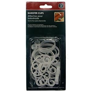 12ct Heavy Duty Banister And Railing Clips For Christmas